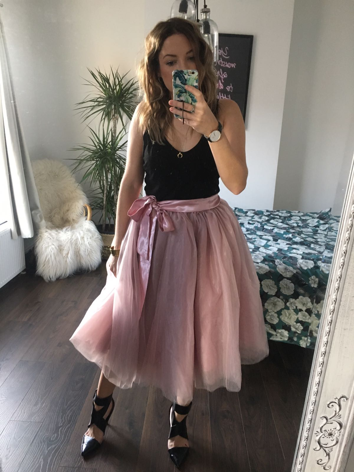 Antique Rose Midi Tulle Tutu Skirt Elsie S Attic