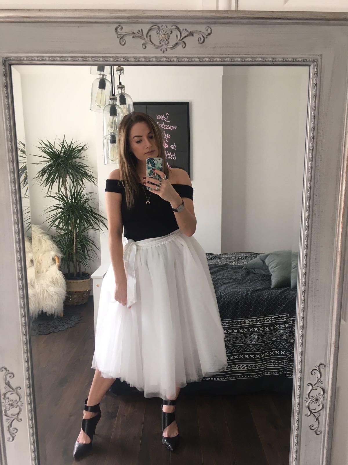 d1063ecbe Antique Rose Midi Tulle Tutu Skirt - Elsie's Attic