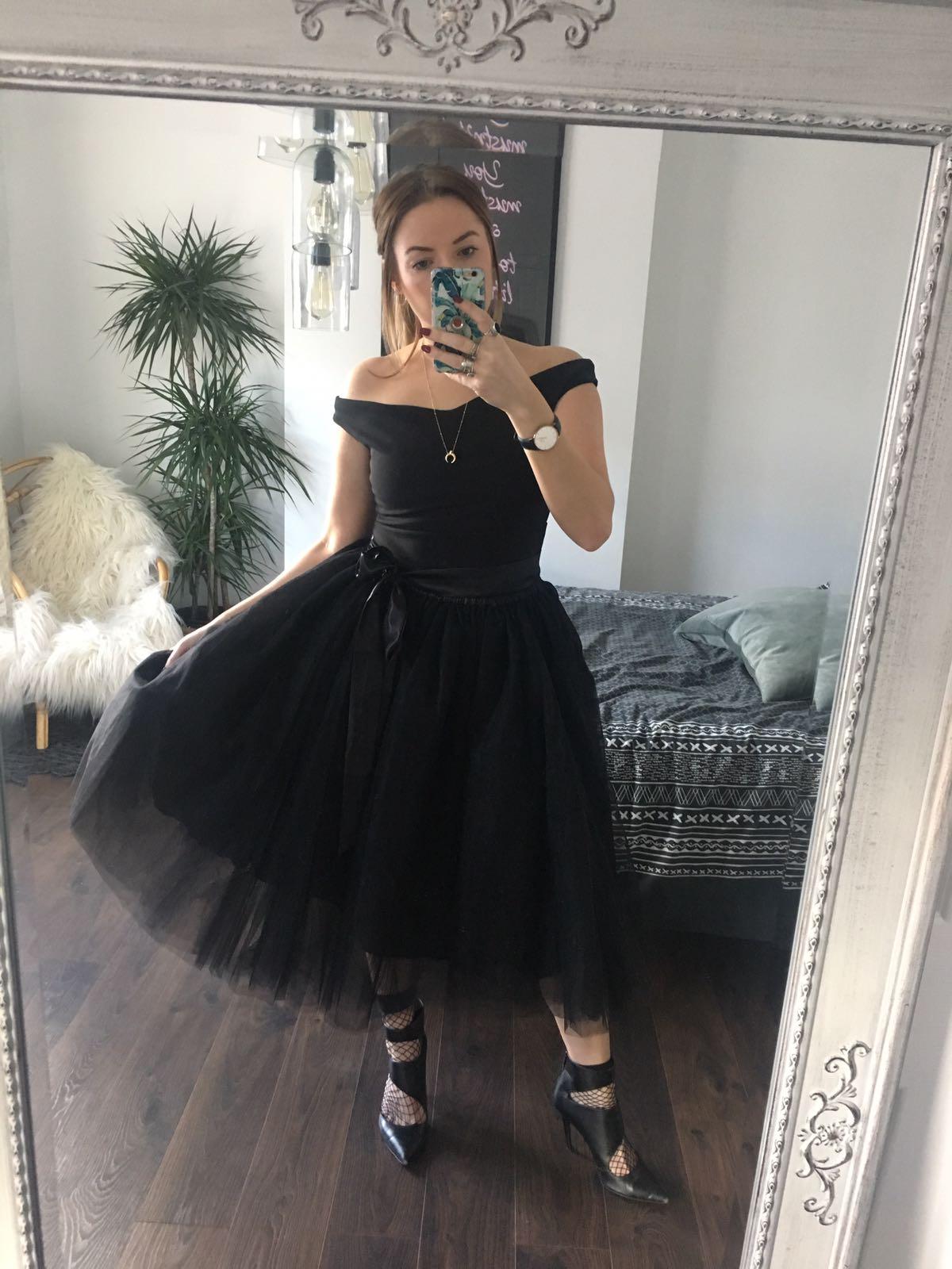 Black Midi Tulle Tutu Skirt Elsie S Attic
