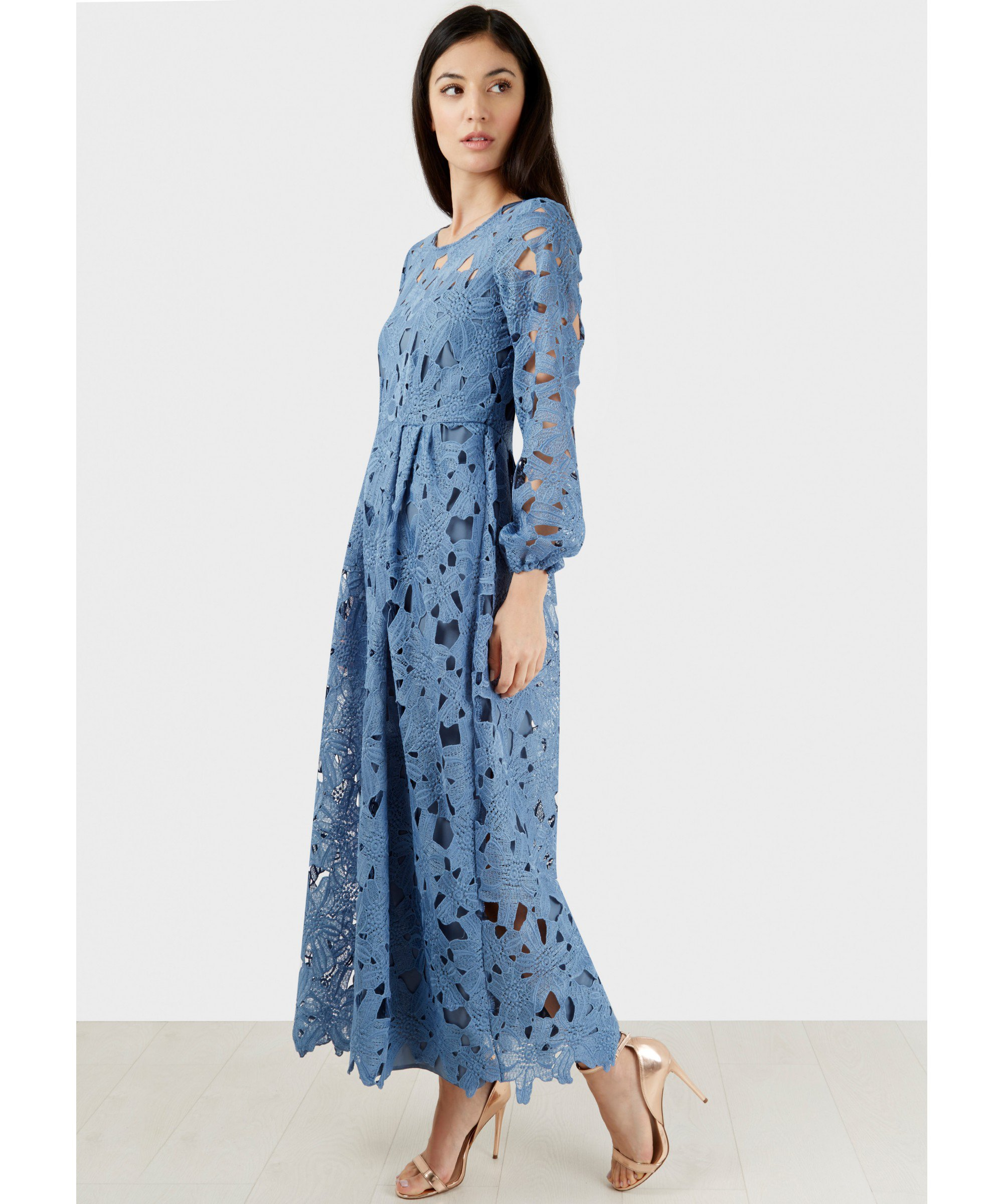 Full sleeve maxi dress uk