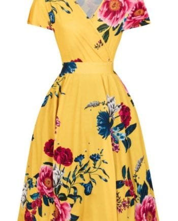 Christopher Kane Archive Floral Pleated Dress