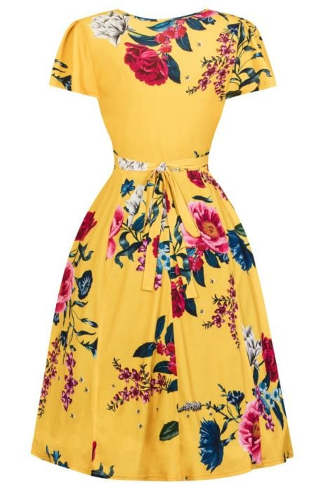 Yellow floral mabel dress elsies attic yellow floral mabel dress mightylinksfo